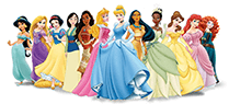 Disney Princesses from Santa And Me